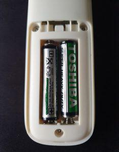 nhiệt kế chạy bằng pin