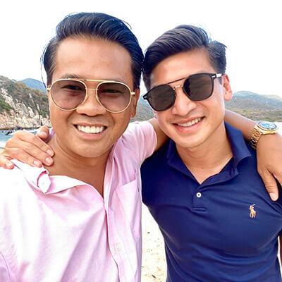 Quách Thái Công và bạn trai