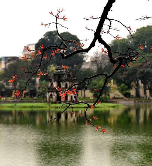 Chụp ảnh kỷ yếu ở Hà Nội
