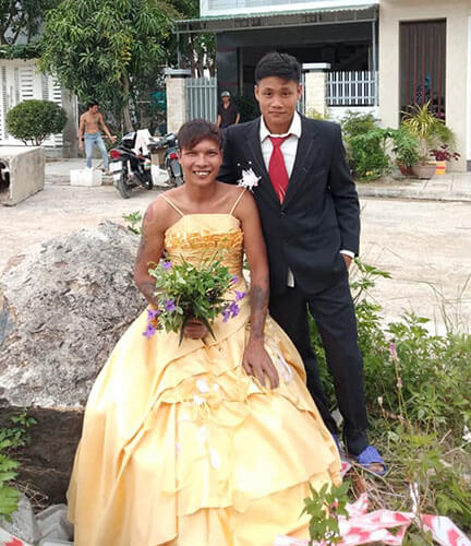 Lộc fuho cưới vợ