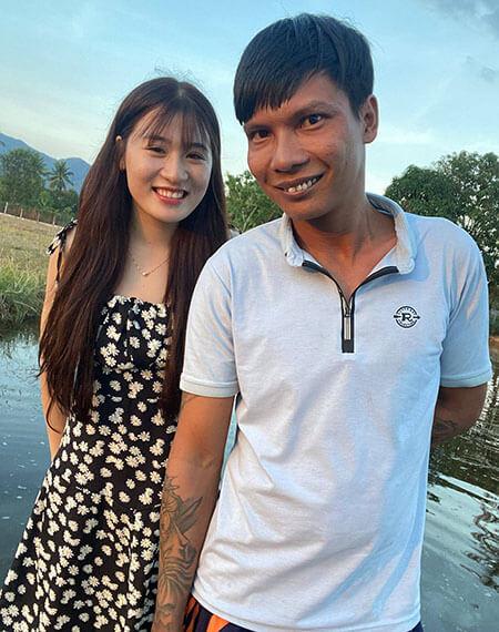 Lộc Fuho và bạn gái Thủy