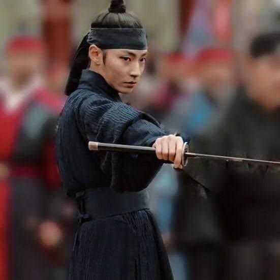 Kiếm khách Park Dan Ho trong Tiểu sử chàng Nokdu