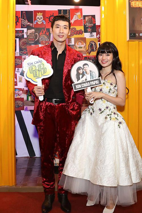 Khánh Vân trong web drama cùng Tuấn Trần