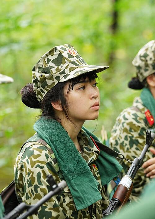 Nhan sắc thật của Khánh Vân khi tham gia Sao nhập ngũ