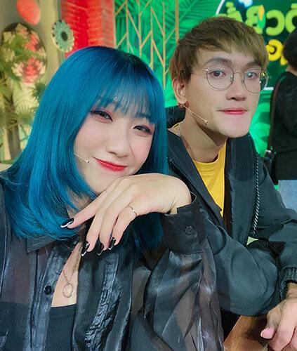 Di Thanh Thanh và bạn trai
