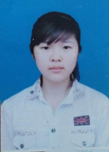 Nguyễn Thị Ngoan ảnh thẻ hồi con gái