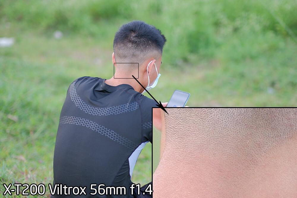 Hình ảnh Viltrox 56mm f1.4, Body X-t200 24MP