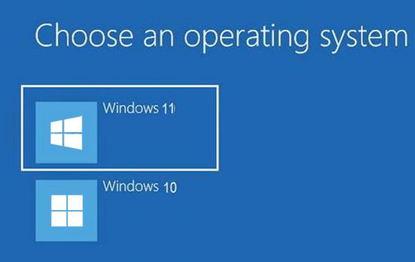 Cài song song Windows 11 và Windows 10