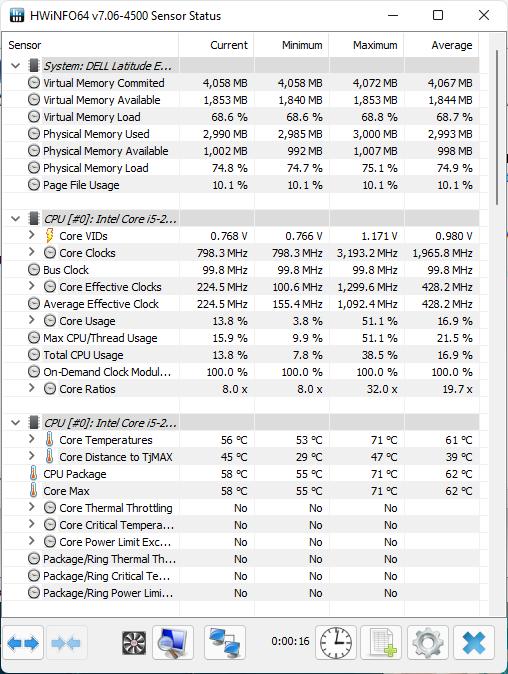 Xem nhiệt độ CPU theo từng lõi