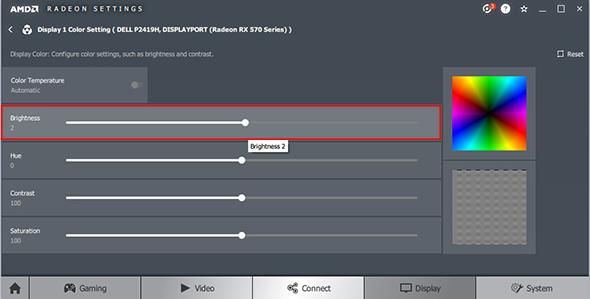 Chỉnh màu sắc màn hình dễ dàng trên driver AMD Radeon