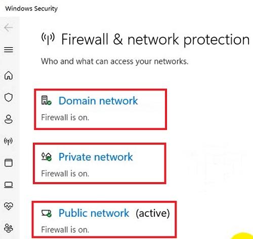Cách tắt Windows Firewall windows 11
