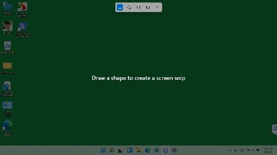 Chụp ảnh windows 11 Windows Snip