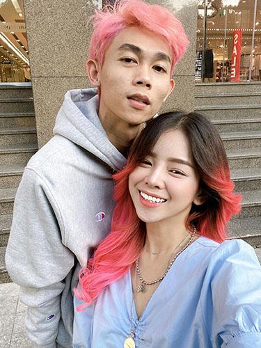Dj Mie và Hồng Thành người yêu