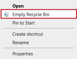 Dọn dẹp thùng rác Windows 11