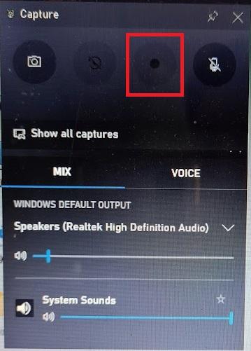 Quay phim màn hình Windows 11