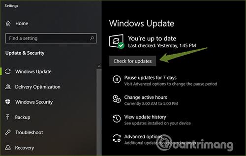 Sửa lỗi không chỉnh được ánh sáng màn hình windows 11