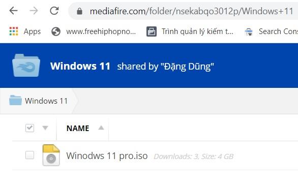 Tải Windows 11 Iso
