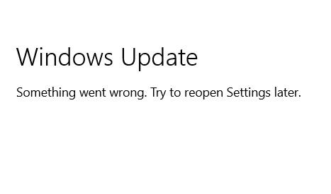 Windows update bị lỗi trên windows 11