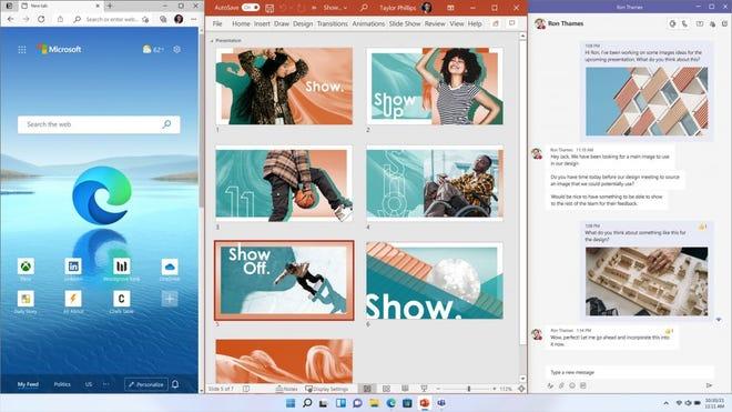 Tính năng mới windows 11 21H2