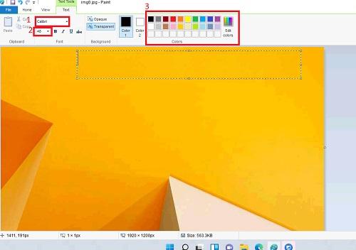 Các công cụ để viết chữ vào ảnh trên windows 11