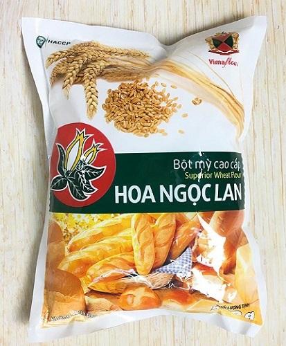 Hình ảnh một loại bột mì phổ biến ở Việt Nam