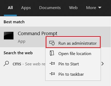 Kiểm tra IP bằng cmd windows 11