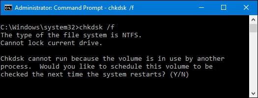 Công cụ check disk