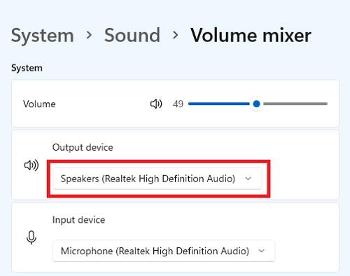 Cài đặt chuyển đổi nguồn phát âm thanh loa và tai nghe