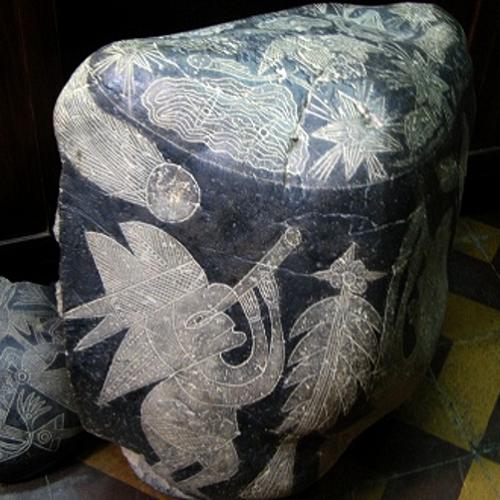 Phiến đá hình người 30000 tuổi