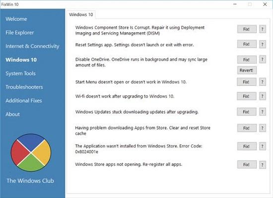 Sửa lỗi của Windows 11