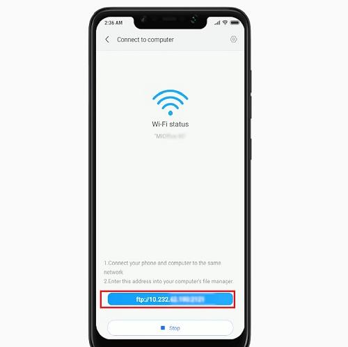 Địa chỉ mạng wifi của thiết bị