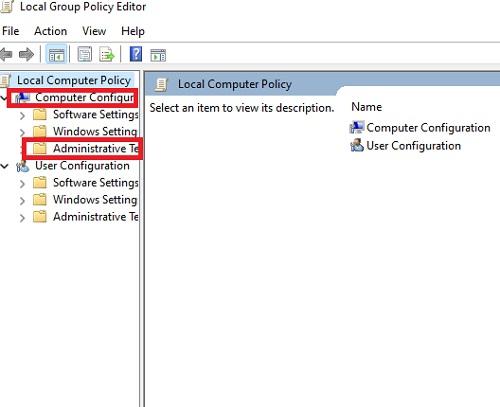 Computer configure để sửa lỗi tự động bật máy tính