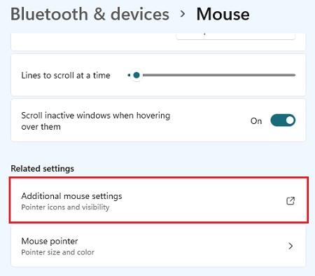 Chuột cảm ứng Touchpad laptop win 11 không hoạt động