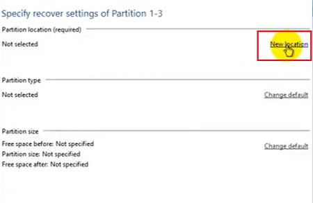 Chọn ổ đĩa cần bung file vào lần 2