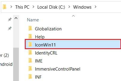 giao diện windows 11 cho win 10