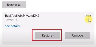 Khôi phục file bị phần mềm diệt virus xóa trên Windows 11