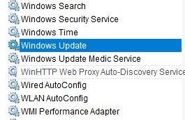 Dịch vụ Windows Update