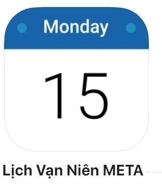 Thêm Âm lịch cho điện thoại iphone 13 pro max