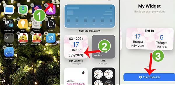 Cài Lịch vạn niên cho iphone